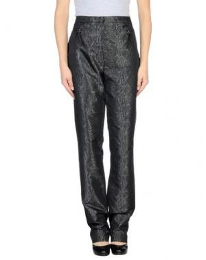 Повседневные брюки EXTE. Цвет: стальной серый
