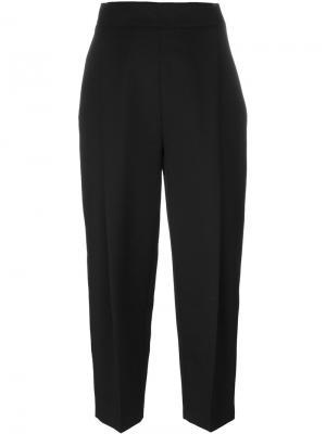 Укороченные брюки Paule Ka. Цвет: чёрный