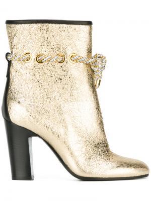 Ботинки Cosenza Michel Vivien. Цвет: металлический