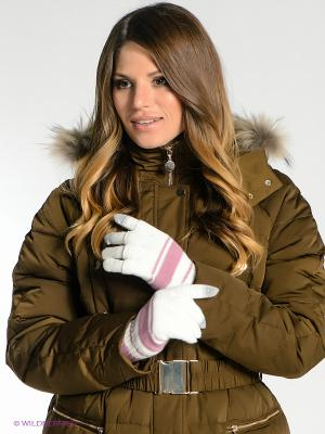 Перчатки Milana Style. Цвет: молочный