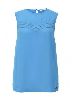 Блуза Zarina. Цвет: голубой