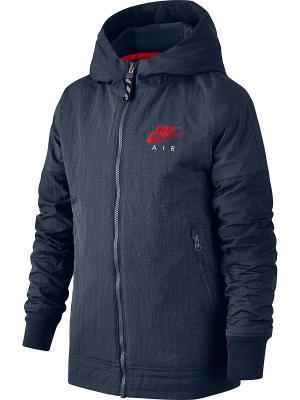 Куртка B NK AIR JKT HD Nike. Цвет: синий, красный
