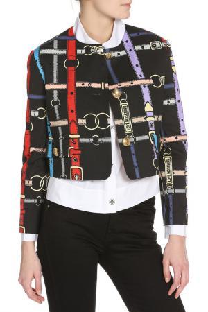 Жакет Love Moschino. Цвет: black, belt pr.