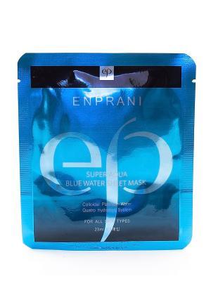 Увлажняющая тканевая маска, 23 мл Enprani. Цвет: синий