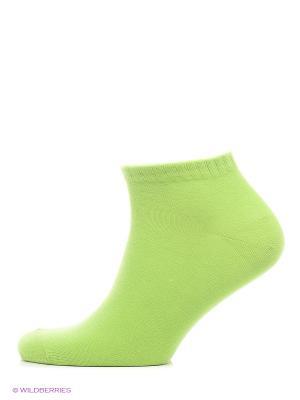 Носки Skinija. Цвет: зеленый