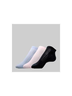Носки CONTE Elegant. Цвет: розовый, черный, сиреневый
