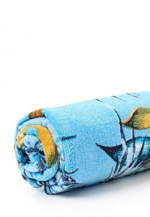 Полотенце Quiksilver. Цвет: голубой