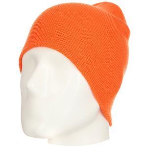 Шапка  Flexfit/Yupoong 1500 KC Blaze Orange Footwork. Цвет: оранжевый