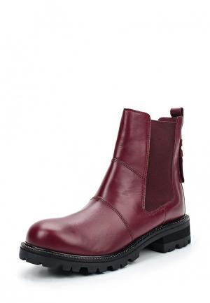 Ботинки Twin-Set Simona Barbieri. Цвет: бордовый