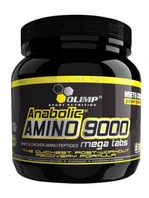Аминокислоты OLIMP Anabolic Amino 9000 (300 таб) Nutrition. Цвет: черный