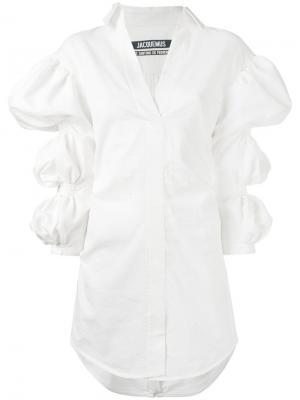 Платье Santon Jacquemus. Цвет: белый