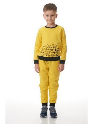 Свитшот EMDI. Цвет: желтый