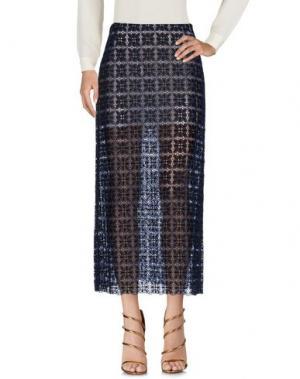 Длинная юбка LUISA BECCARIA. Цвет: темно-синий