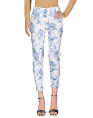 Повседневные брюки SHAFT. Цвет: белый