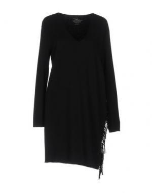 Короткое платье PAULIE. Цвет: черный