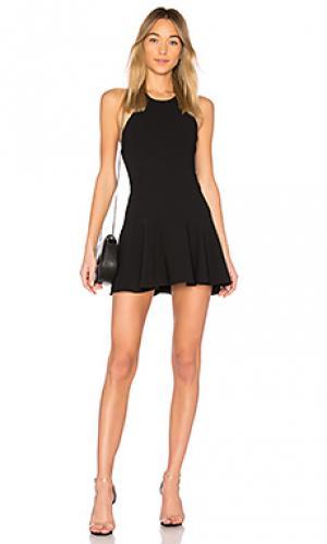 Платье bellina Amanda Uprichard. Цвет: черный