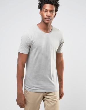 Troy Длинная футболка. Цвет: бежевый