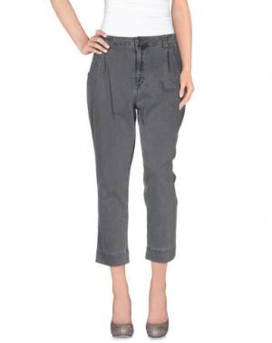 Повседневные брюки SIWY. Цвет: серый