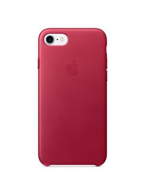 Чехол (клип-кейс) Apple для iPhone 7 MPVG2ZM/A, темно-розовый. Цвет: темно-красный