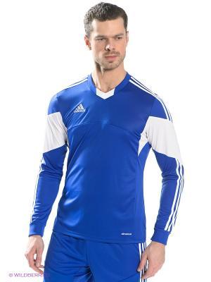 Лонгслив TIRO 13 JSY LS Adidas. Цвет: синий, белый