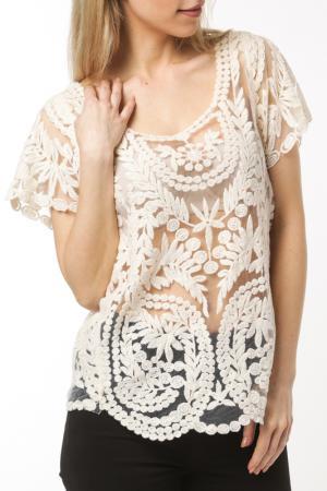 Блуза Dilvin. Цвет: white