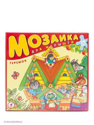 Мозаика для малышей Теремок Дрофа-Медиа. Цвет: желтый, красный