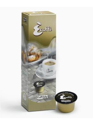 Кофе в капсулах Prezioso ECAFFE CAFFITALY. Цвет: коричневый