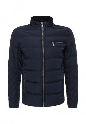 Куртка утепленная Trussardi Jeans. Цвет: синий