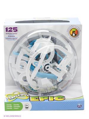 Развивающая игрушка Головоломка Perplexus Epic, 125 барьеров SPIN MASTER. Цвет: белый