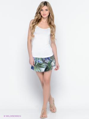 Комплект одежды PENYE MOOD. Цвет: зеленый, индиго, белый