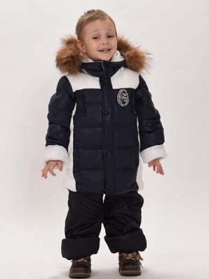 Куртка+брюки для мальчиков TOPKLAER. Цвет: белый, синий