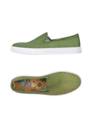 Низкие кеды и кроссовки YAB. Цвет: кислотно-зеленый