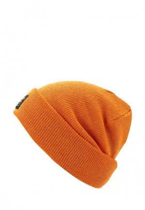 Шапка Burton. Цвет: оранжевый