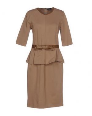 Платье до колена RAOUL. Цвет: хаки