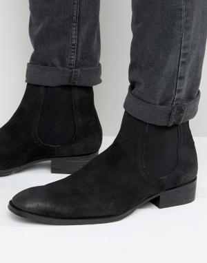 Dead Vintage Ботинки челси. Цвет: черный