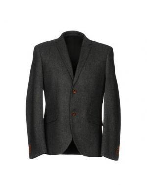 Пиджак SUIT. Цвет: серый