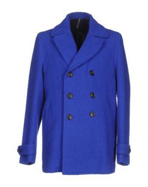 Пальто MONTEDORO. Цвет: ярко-синий