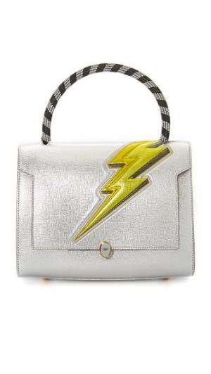 Сумка-портфель Bathurst с изображением молнии Anya Hindmarch