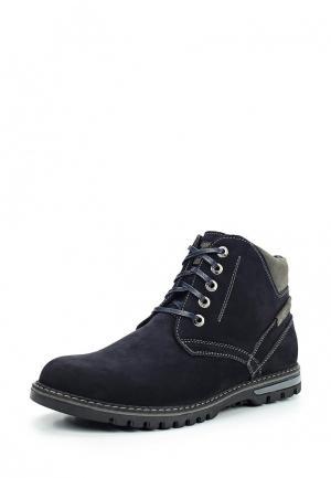 Ботинки Der Spur. Цвет: синий