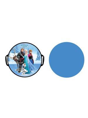 Ледянка Disney Холодное Сердце 52 см, круглая 1Toy. Цвет: синий, зеленый