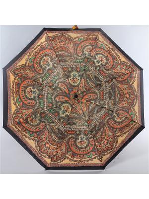 Зонт Zest. Цвет: коричневый, горчичный