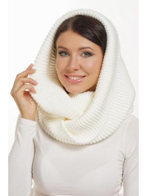 Снуд Siberika. Цвет: белый, молочный