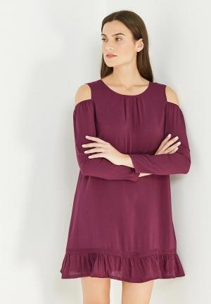 Платье Patrizia Pepe. Цвет: фиолетовый
