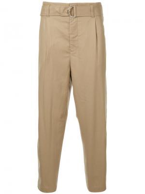 Зауженные брюки 3.1 Phillip Lim. Цвет: коричневый