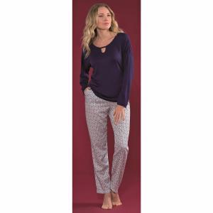 Пижама с брюками, Urbaine HECHTER STUDIO. Цвет: набивной рисунок
