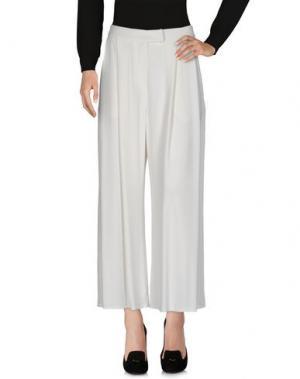 Повседневные брюки DUŠAN. Цвет: белый