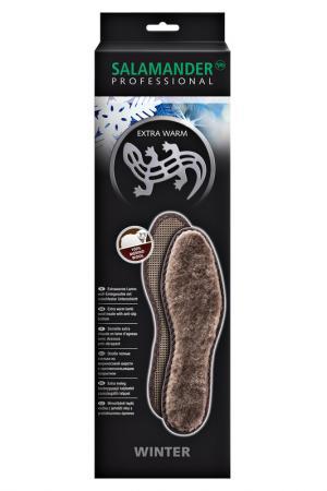 Стельки из овчиной шерсти Salamander Professional. Цвет: коричневый