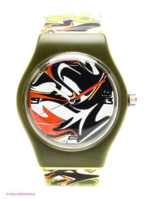 Часы Link - Storm Kawaii Factory. Цвет: зеленый, желтый