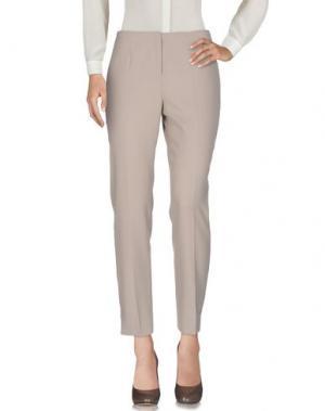 Повседневные брюки IRMA BIGNAMI. Цвет: бежевый