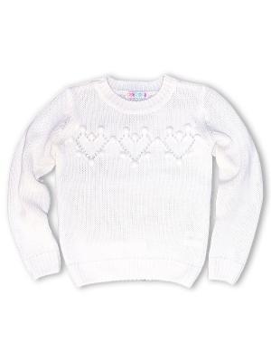 Пуловер Grow up. Цвет: белый